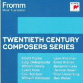 Various Artists - Fromm Music Foundation - Twentieth Century Composers (10CD BOX, 2020)