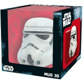 Star Wars / Hrnek 300ml - Hrnek Star Wars - Stormtrooper 3D