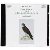 Wolfgang Amadeus Mozart - Piano Sonatas, Vol. 4 / Sonáty pro klavír (1991)