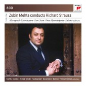 Richard Strauss - Zubin Mehta Conducts Richard Strauss (8CD, 2016)