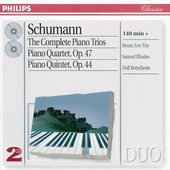 Schumann, Robert - Schumann The Complete Piano Trios Beaux Arts Trio