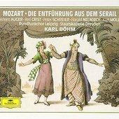 Mozart, Wolfgang Amadeus - MOZART Entführung aus dem Serail Böhm