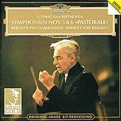 Beethoven, Ludwig van - BEETHOVEN Symphonien 5 + 6 Karajan