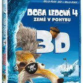 Film/Animovaný - Doba ledová 4: Země v pohybu/2BRD (2D+3D)