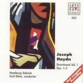 Joseph Haydn - Divertimenti Vol.1 Nos. 1-3