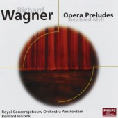 Wagner, Richard - Opera Preludes, Siegfried Idyll (Edice 2001)