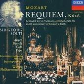 Mozart, Wolfgang Amadeus - Mozart Requiem, K 626 Auger/Bartoli/Cole/Pape