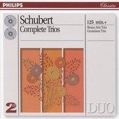 Schubert, Franz - Schubert Complete Trios Beaux Arts Trio