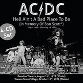 AC/DC - Hell Ain't A Bad Place To Be: LIVE (4CD, 2016)