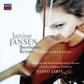 Beethoven, Ludwig van - Beethoven & Britten Violin Concertos - Jansen, Die