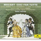 Mozart, Wolfgang Amadeus - MOZART Così fan tutte Böhm