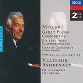 Mozart, Wolfgang Amadeus - Mozart Piano Concertos Vladimir Ashkenazy