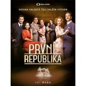 Film/Seriál ČT - První republika III. Řada (4DVD, 2018)