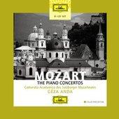 Mozart, Wolfgang Amadeus - MOZART Die Klavierkonzerte Géza Anda