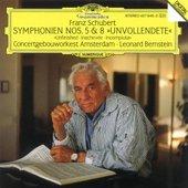 Franz Schubert - Symphonies No. 5 & 8  (Leonard Bernstein)