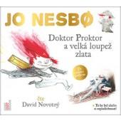 Jo Nesbo - Doktor Proktor a velká loupež zlata/MP3