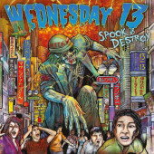 Wednesday 13 - Spook & Destroy (Digipack, EP, Reedice 2019)