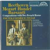 Ludwig van Beethoven - Skladby pro lesní  rohy/ Dvořákův komorní orchestr