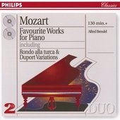 Mozart, Wolfgang Amadeus - Mozart Favourite Works for Piano, Alfred Brendel