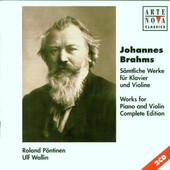 Johannes Brahms - Sämtliche Werke für Klavier und Violine