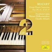 Mozart, Wolfgang Amadeus - MOZART Klavierkonzerte / Gulda, Abbado