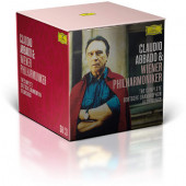 Claudio Abbado & Vídenští filharmonici - Complete Deutsche Grammophon Recordings (58CD BOX, 2020) /Limited Edition