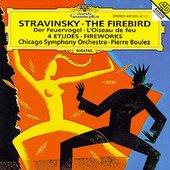 Boulez, Pierre - STRAVINSKY Firebird, Etudes / Boulez