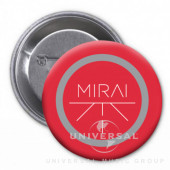 Mirai - Placka Mirai - červená