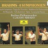 Brahms, Johannes - BRAHMS 4 Symphonien Abbado