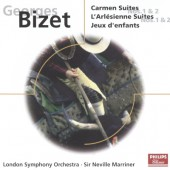 Bizet, Georges - Carmen Suites, L'Arlésienne Suites, Jeux D'Enfants (Edice 2001)