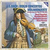 Bach, Johann Sebastian - BACH Violin Concertos / Standage, Wilcock, Pinnock