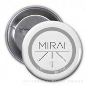 Mirai - Placka Mirai - bílá
