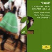 Brahms, Johannes - BRAHMS 21 Hungarian Dances / Abbado