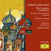 Rimsky-Korsakov, Nikolai Andreyevich - RIMSKY-KORSAKOV Symphonies Nos. 1-3 / Järvi