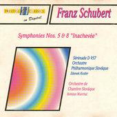"""Franz Schubert - Symphonies Nos. 5 & 8 """"Inachevée"""""""