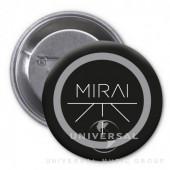 Mirai - Placka Mirai - černá