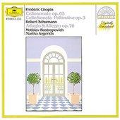 Martha Argerich - CHOPIN, SCHUMANN Rostropovich, Argerich
