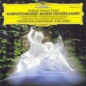 Mozart, Wolfgang Amadeus - MOZART Konzerte f. Klar./Fl.u.Harfe Böhm