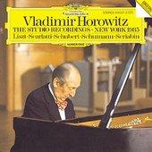 Vladimir Horowitz/Various Artists - Horowitz: The Studio Recording, New York 1985