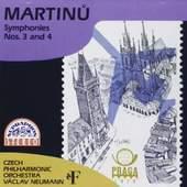 Czech PO - Martinu - Symphonies Nos. 3 & 4