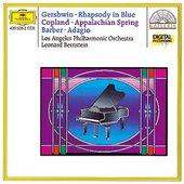 Bernstein, Leonard - BARBER Adagio GERSHWIN Rhapsody in Blue /Bernstein