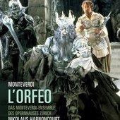 Monteverdi, Claudio - MONTEVERDI LOrfeo Harnoncourt DVD-VIDEO