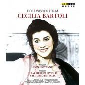 Cecilia Bartoli - Best Wishes From Cecilia Bartoli (3DVD, 2016)