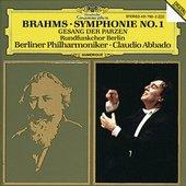 Brahms, Johannes - BRAHMS Symphony No. 1 / Abbado