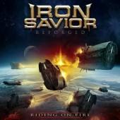 Iron Savior - Reforged - Riding On Fire (Limited Blue Vinyl, 2017) - Vinyl
