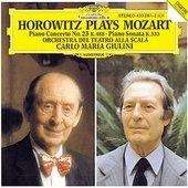 Giulini, Carlo Maria - HOROWITZ PLAYS MOZART