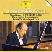 Mozart, Wolfgang Amadeus - MOZART Piano Sonatas KV 281, 330, 333 / Horowitz