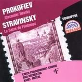Igor Strawinsky/Sergej Prokofiev - Kantaten/Tableaux De La Russie