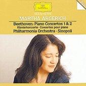 Beethoven, Ludwig van - BEETHOVEN Klavkon. 1 & 2 Argerich Sinopoli