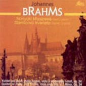 Johannes Brahms - Piano Quintet Op.34/Stamicovo Kvarteto, Miyazawa,